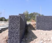 Murs de contenció amb gabions (Comercial Lebrero) Can Rigal 2