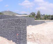 Murs de contenció amb gabions (Comercial Lebrero) Can Rigal 3