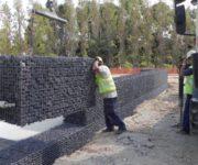 Murs de contenció amb gabions (Comercial Lebrero) Can Rigal 5