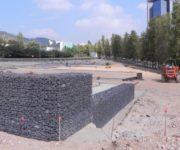 Murs de contenció amb gabions (Comercial Lebrero) Can Rigal 6
