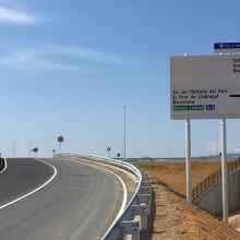 El Puerto de Barcelona construye una de las vías de acceso portuario con Árido Siderúrgico, el Eje 14 Tramo TERCAT