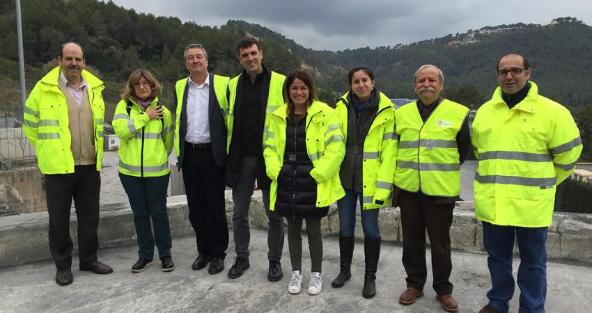 Ministerio de Fomento i Cedex visiten les instal·lacions d'Adec Global
